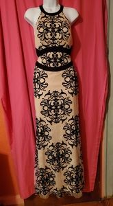 #632 Betsy Adam formal dress